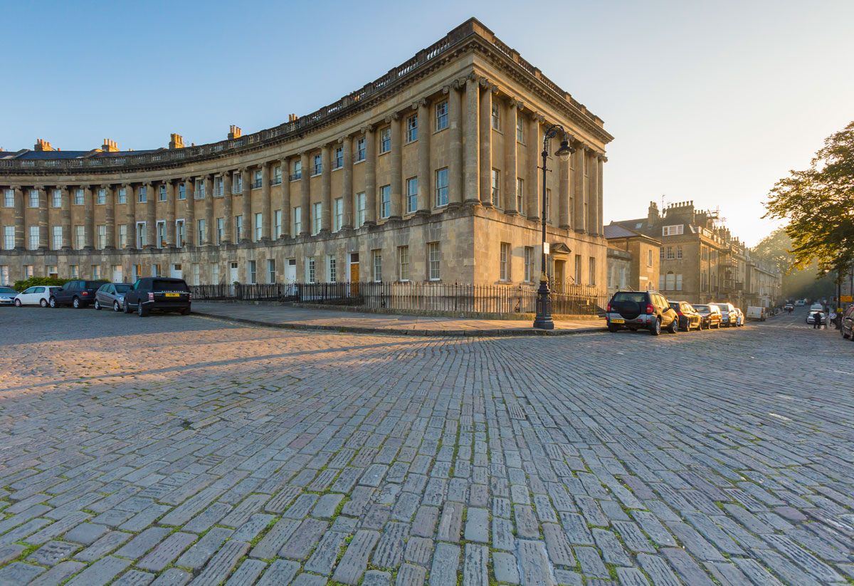 Outside No1. Royal Crescent
