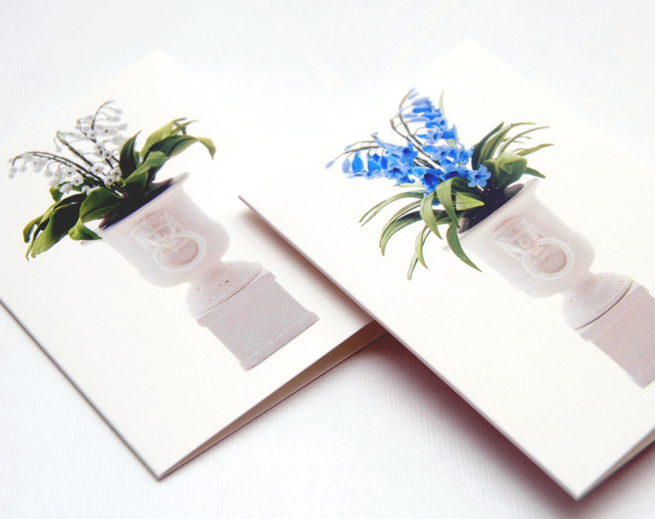 Flower Baskets Crossword Clue : Notecard pack flowers